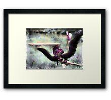 Acacia And The Unicorn Framed Print