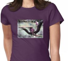 Acacia And The Unicorn Womens Fitted T-Shirt