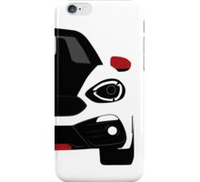 Spider simple front end iPhone Case/Skin