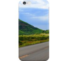 Green Road iPhone Case/Skin