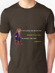 Guybrush Threepwood - Mustache Quote T-Shirt