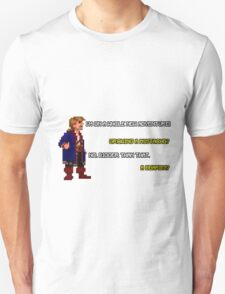 Guybrush Threepwood - Mustache Quote Unisex T-Shirt