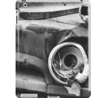 'Broken' black and white iPad Case/Skin
