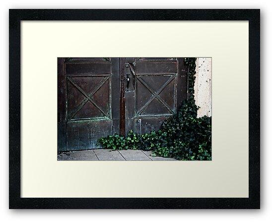 Ivy Door by Candy Gemmill