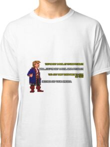 Guybrush Threepwood vs Meathook Classic T-Shirt