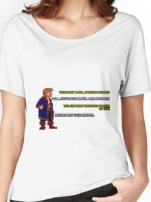 Guybrush Threepwood vs Meathook Women's Relaxed Fit T-Shirt