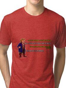 Guybrush Threepwood vs Meathook Tri-blend T-Shirt