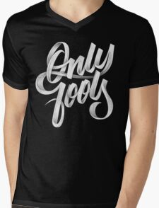 ONLY FOOLS Mens V-Neck T-Shirt