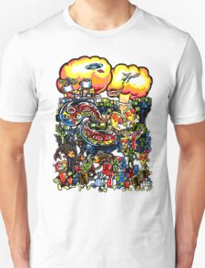 Pizza, Robots, and a crazy bunch of other stuff... T-Shirt