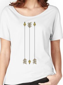 gold arrows Women's Relaxed Fit T-Shirt