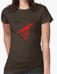 Homestuck Blood aspect logo Womens Fitted T-Shirt
