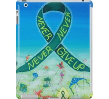 Kidney Disease Awareness iPad Case/Skin