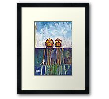 Cable Cars Picture San Francisco California Framed Print