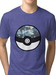 Tye Dye Pokeball Tri-blend T-Shirt