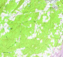 USGS TOPO Map Alabama AL Pell City 304803 1958 24000 Sticker