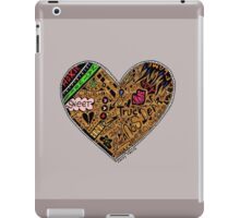 Wooden Heart Love Wins iPad Case/Skin