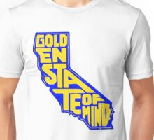 Golden State of Mind Blue/Yellow Unisex T-Shirt