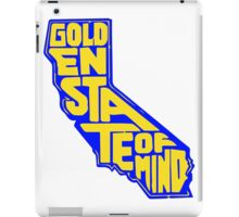 Golden State of Mind Blue/Yellow iPad Case/Skin