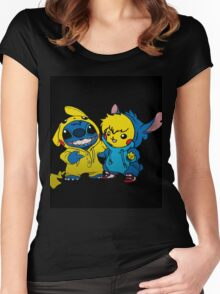 pika&stitch  Women's Fitted Scoop T-Shirt