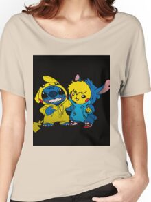 pika&stitch  Women's Relaxed Fit T-Shirt