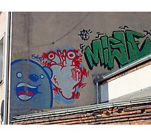 Graffiti made in Poland  Photographic Print
