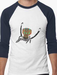 Peacock Spider Men's Baseball ¾ T-Shirt