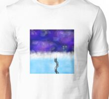 TARDIS on a Cloud- The Snowmen Unisex T-Shirt