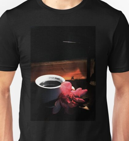 Magnolia and Coffee Unisex T-Shirt