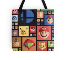 Super Smash bros 4 Tote Bag