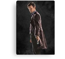 Low Poly 11th Doctor Canvas Print