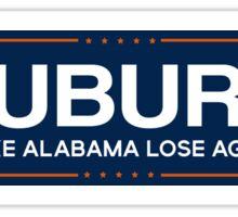 auburn trump Sticker