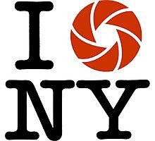 I LOVE NY (I PHOTOGRAPH NY) Photographic Print