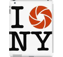 I LOVE NY (I PHOTOGRAPH NY) iPad Case/Skin