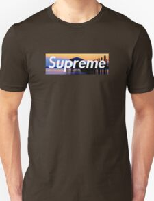 Supreme Beach Logo T-Shirt