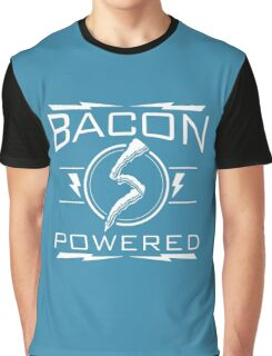 Bacon Powered Graphic T-Shirt