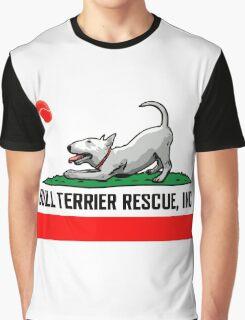 Bull Terrier Rescue, Inc. California Flag Graphic T-Shirt