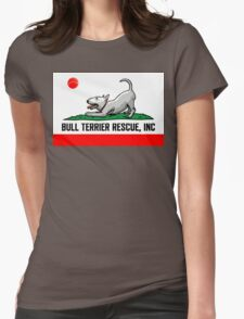 Bull Terrier Rescue, Inc. California Flag Womens Fitted T-Shirt