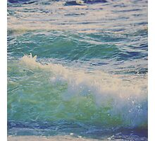 Emerald and Saphire Photographic Print