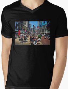 The Crossroads of the World Mens V-Neck T-Shirt
