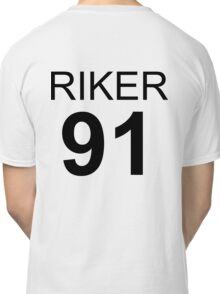 Riker Lynch 1991 Baseball Tee Classic T-Shirt