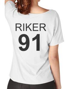 Riker Lynch 1991 Baseball Tee Women's Relaxed Fit T-Shirt