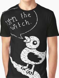 Burn the Witch - White  Graphic T-Shirt
