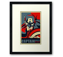 capatain america civil war Framed Print