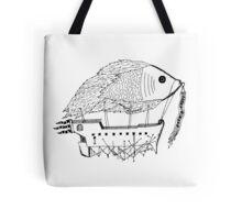 Fish & Ships Tote Bag