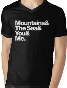 It's Only Mountains & Sea & Prince & Me Mens V-Neck T-Shirt