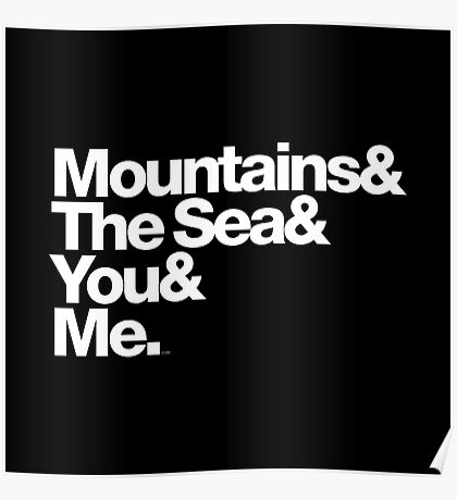 It's Only Mountains & Sea & Prince & Me Poster