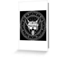 Sphynx by Industry Seven Greeting Card