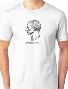Roman Numerals: U Wot M8? Unisex T-Shirt