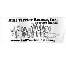 Bull Terrier Rescue, Inc...a Second Chance Poster