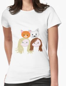 Rose and Rosie Family Womens Fitted T-Shirt